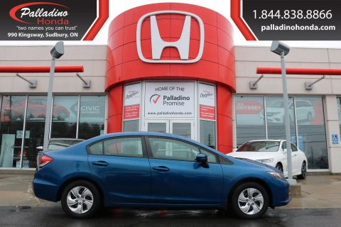 Pre-Owned 2015 Honda Civic Sedan LX - MANUAL WITH CRUISE CONTROL AND HEATED SEATS -