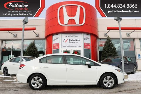 Pre-Owned 2014 Honda Civic Sedan LX - CLEAN CARFAX - BLUETOOTH CRUISE CONTROL HEATED SEATS -