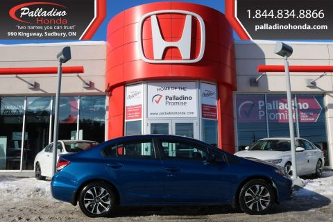 Pre-Owned 2015 Honda Civic Sedan EX-BACKUP CAMERA,BLUETOOTH CONNECTION,HEATED SEATS