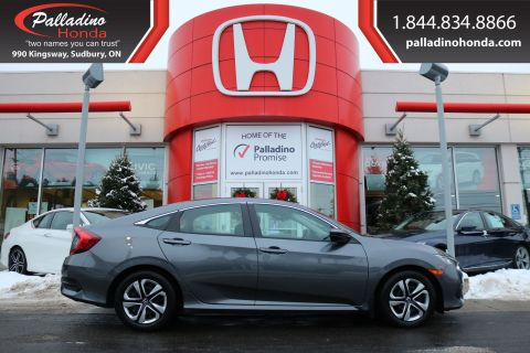 Pre-Owned 2016 Honda Civic Sedan LX - BLUETOOTH  HEATED SEATS BACK UP CAMERA -