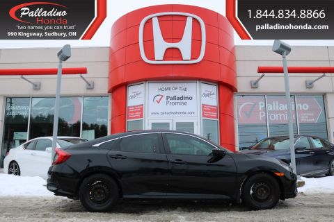 Pre-Owned 2016 Honda Civic Sedan LX - NEW BRAKES FRONT AND REAR NEW AIR AND POLLEN FILTER - BLUETOOTH BACK UP CAMERA -