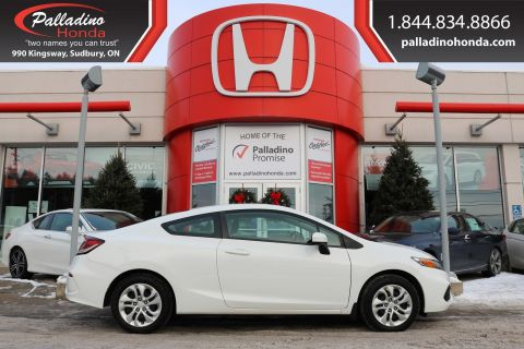 Pre-Owned 2014 Honda Civic Coupe LX - NEW FRONT BRAKES - BLUETOOTH HEATED SEATS -
