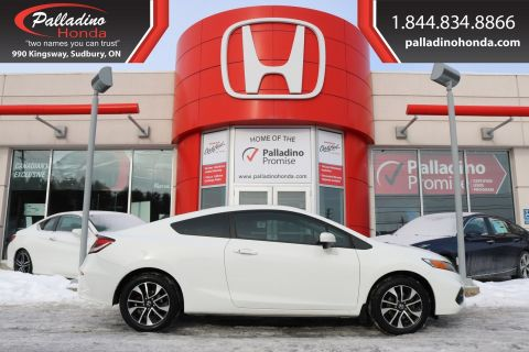 Pre-Owned 2015 Honda Civic Coupe EX - NEW FRONT BRAKES - BLUETOOTH CONNECTION BACK UP CAMERA -