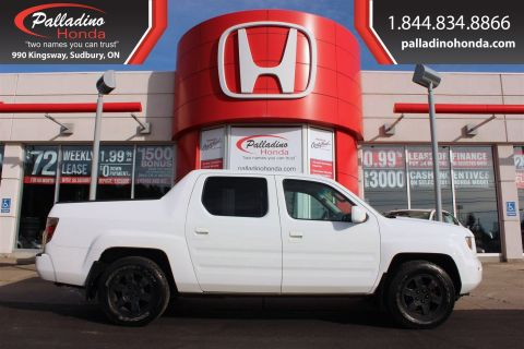 Pre-Owned 2008 Honda Ridgeline - CERTIFIED - With Navigation & 4WD