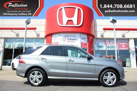 Pre-Owned 2014 Mercedes-Benz M-Class ML 350 BlueTEC - FREE WINTER TIRES AWD