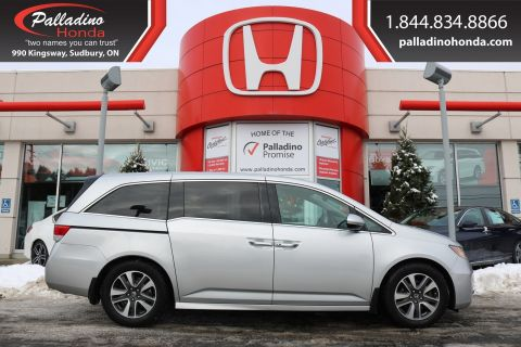 Pre-Owned 2014 Honda Odyssey Touring - NEW BRAKES - NAVIGATION & BACK UP CAMERA -