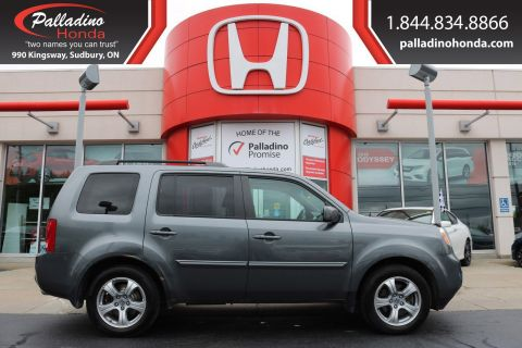 Pre-Owned 2012 Honda Pilot EX-L - BACK UP CAMERA SUNROOF HEATED SEATS -