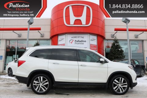 Pre-Owned 2016 Honda Pilot Touring - NEW TIRES - CLEAN CARFAX - NAVIGATION & DUAL SUNROOF -