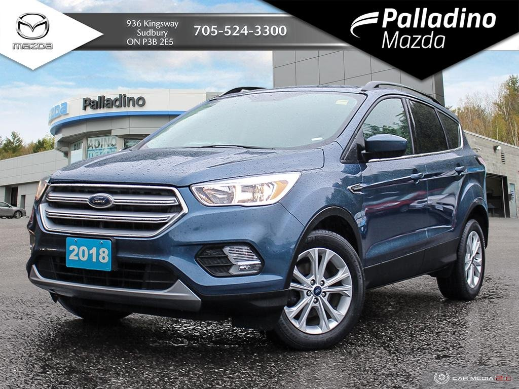 Pre-Owned 2018 Ford Escape SE - FUEL EFFICIENT FRONT WHEEL DRIVE - NO ACCIDENTS