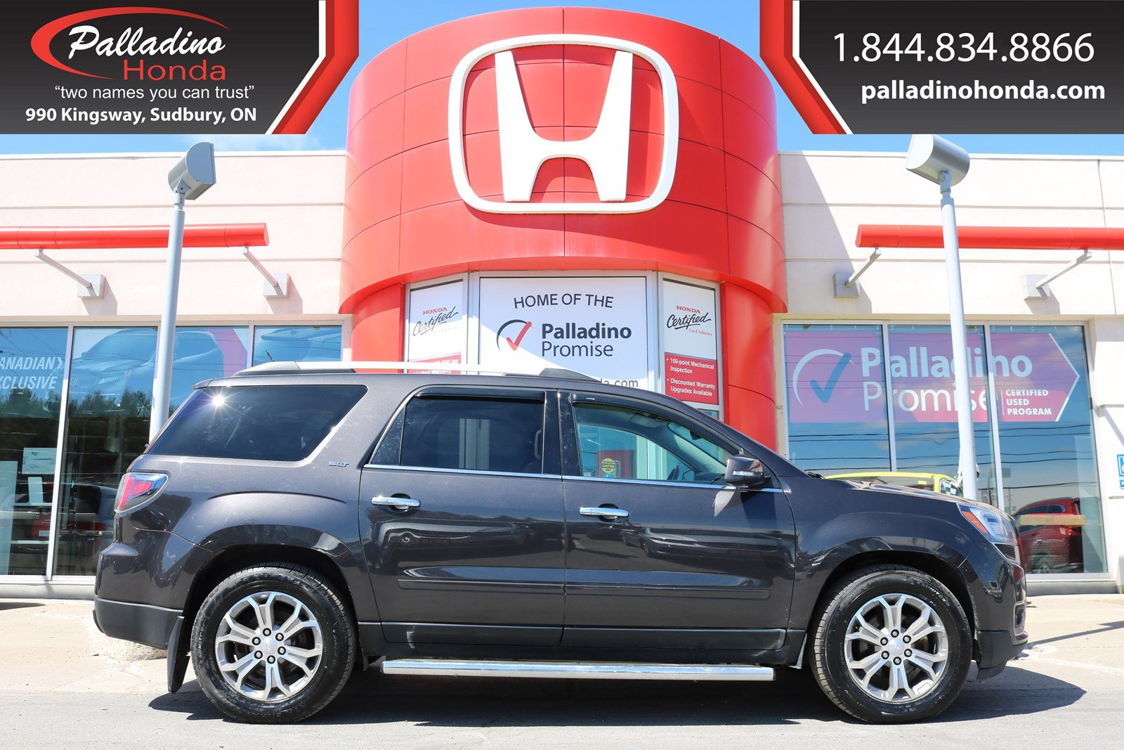 Pre-Owned 2015 GMC Acadia SLT-CERTIFIED