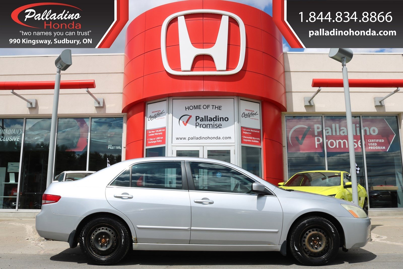Pre-Owned 2004 Honda Accord Sdn -SELF CERTIFY