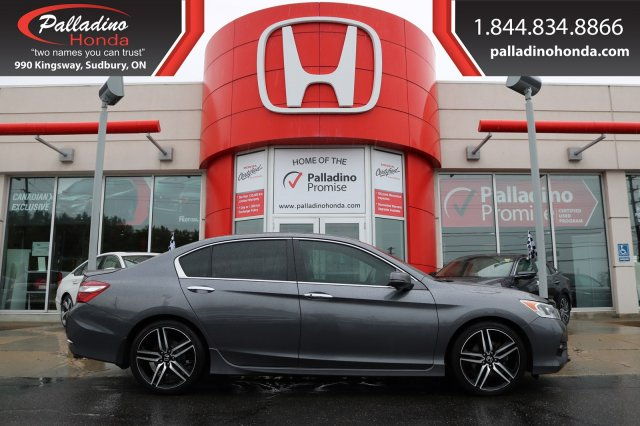 Pre-Owned 2017 Honda Accord Sedan Sport-Honda SENSING,SMART DEVICE INTEGRATION,HEATED SEATS