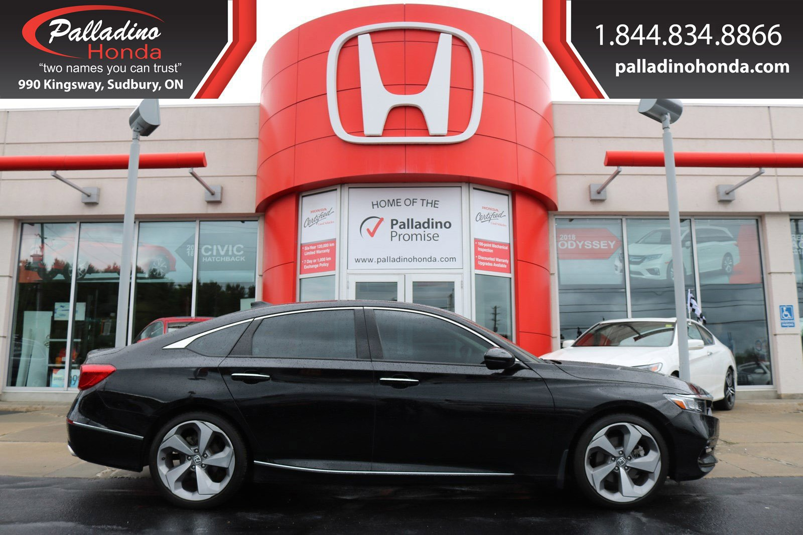Pre-Owned 2018 Honda Accord Sedan Touring - #1 VALUE & FREE WINTER TIRES