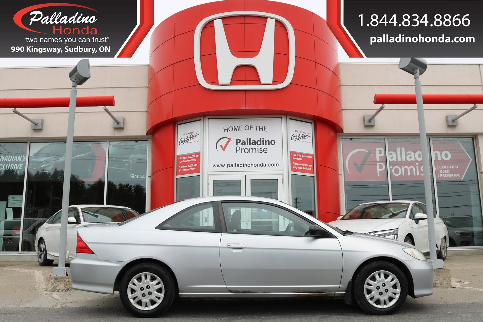 Pre-Owned 2005 Honda Civic Cpe LX-SELF CERTIFY