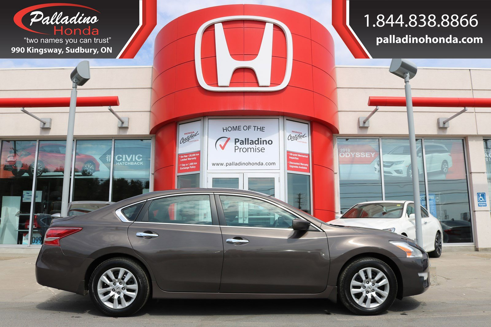 Pre-Owned 2013 Nissan Altima CERTIFIED - GREAT FIRST VEHICLE