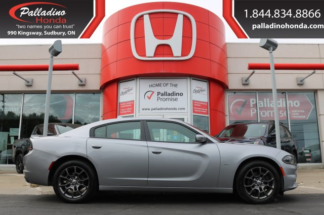 Pre-Owned 2018 Dodge Charger GT-V-6,ALL WHEEL DRIVE,BACKUP CAMERA
