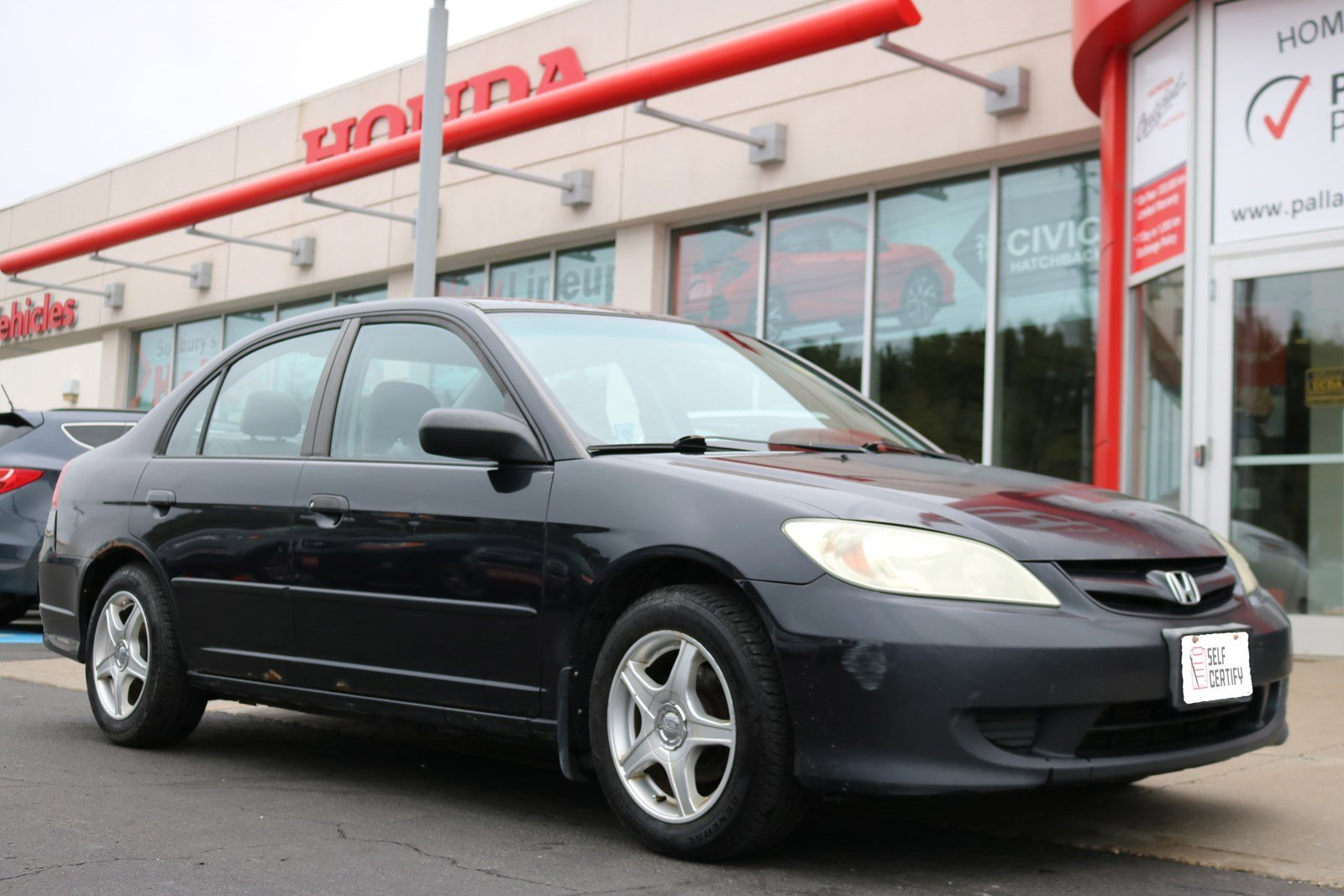 Pre Owned 2004 Honda Civic Sdn DX G   SELF CERTIFY