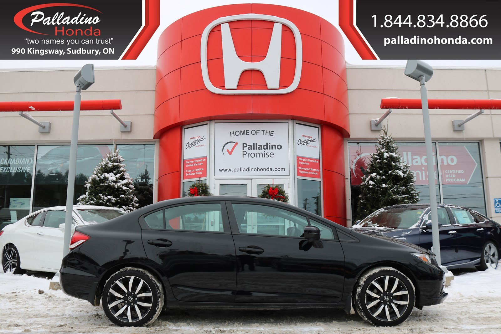 Pre-Owned 2015 Honda Civic Sedan Touring - NAVI BACK UP CAMERA BLUETOOTH -