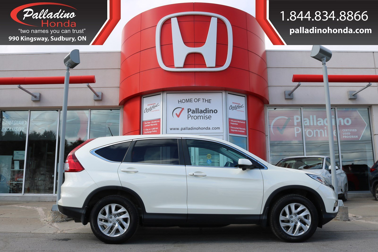 Pre-Owned 2016 Honda CR-V EX-L-ALL WHEEL DRIVE,KEYLESS START,BLUETOOTH