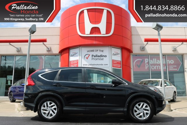 Pre-Owned 2015 Honda CR-V EX-L-ALL WHEEL DRIVE,BLUETOOTH,BACKUP CAMERA