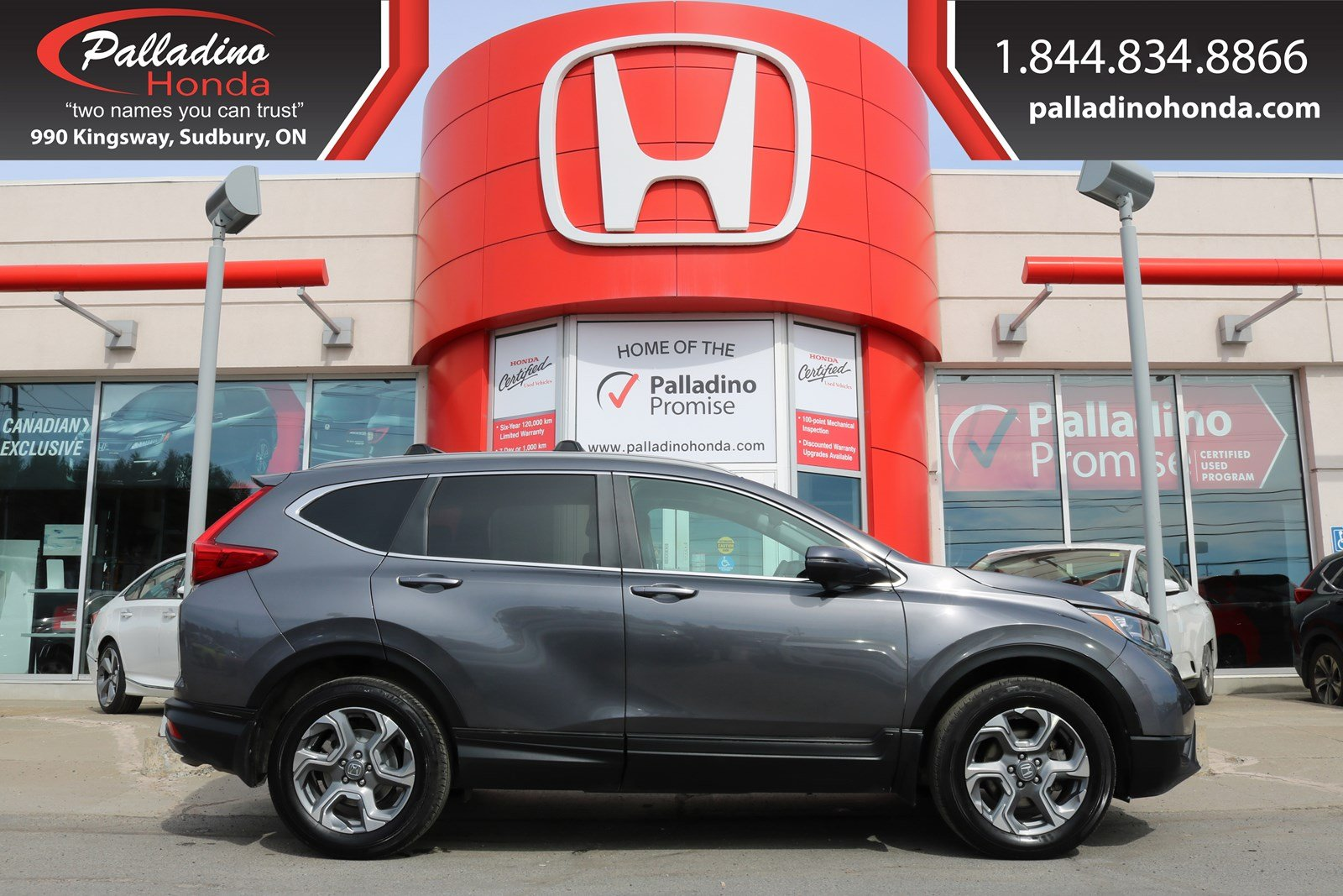 Pre-Owned 2017 Honda CR-V EX-ALL WHEEL DRIVE,SMART DEVICE INTEGRATION,BACKUO CAMERA