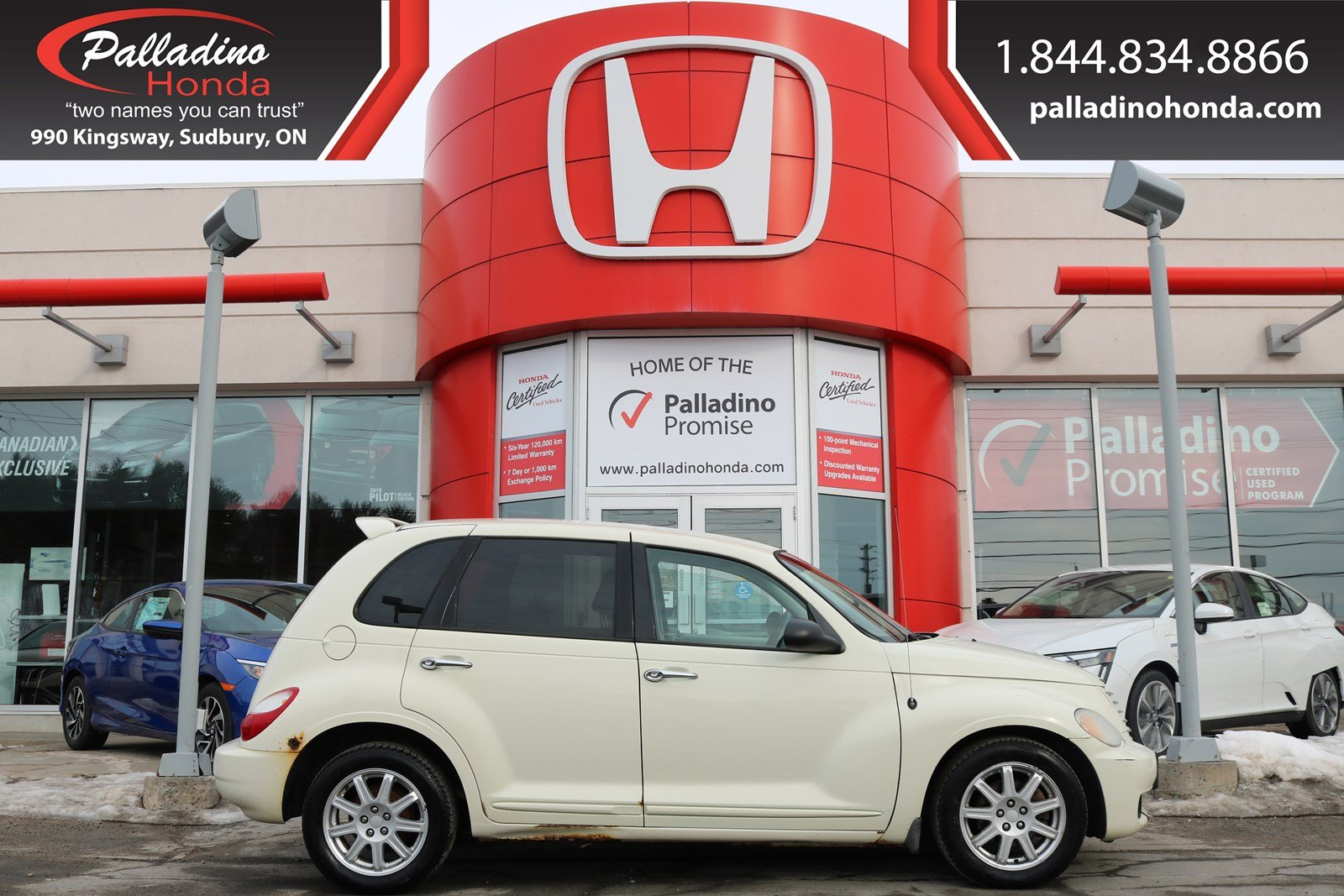 Pre-Owned 2007 Chrysler PT Cruiser BASE-SELF CERTIFY