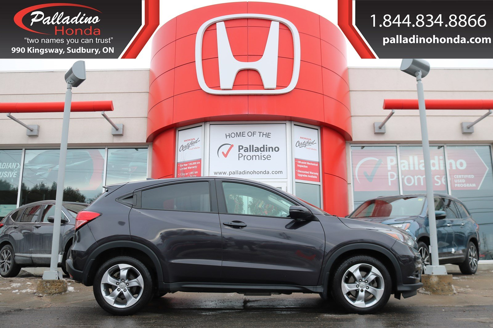 Pre-Owned 2017 Honda HR-V EX- Honda CERTIFIED USED VEHICLE W / 7 YR 160,000 KM POWERTRAIN WARRANTY