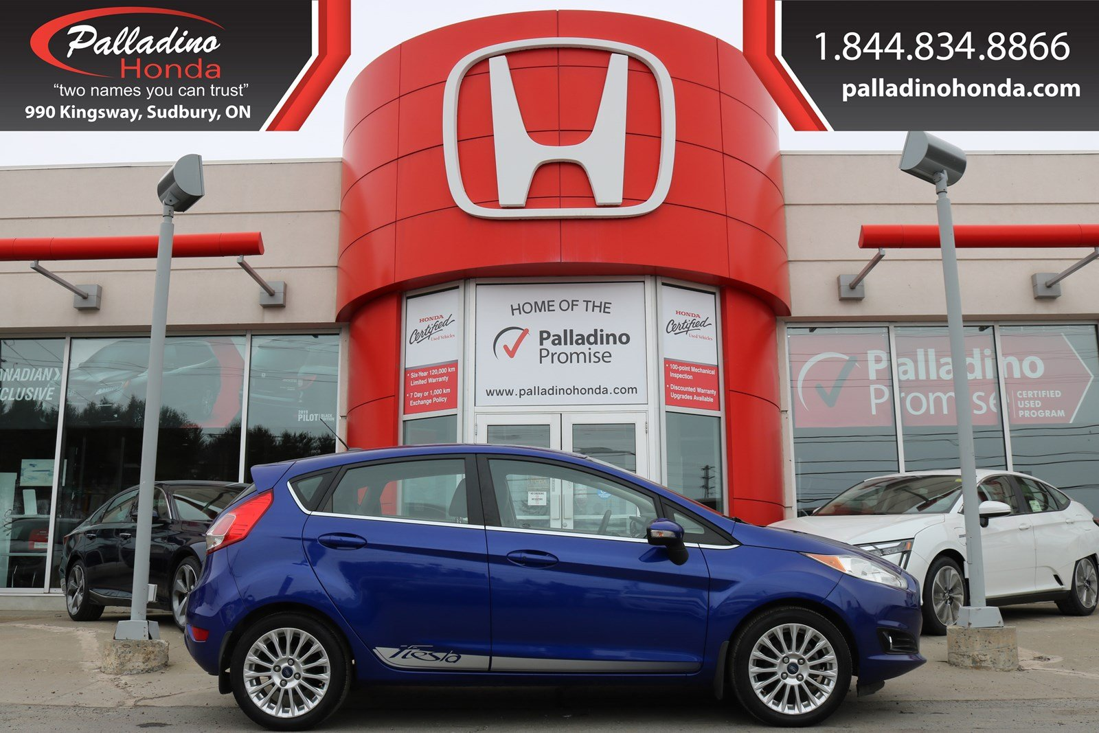 Pre-Owned 2014 Ford Fiesta Titanium-BACKUP CAMERA,REAR PARKING AID,SMARTPHONE INTEGRATION