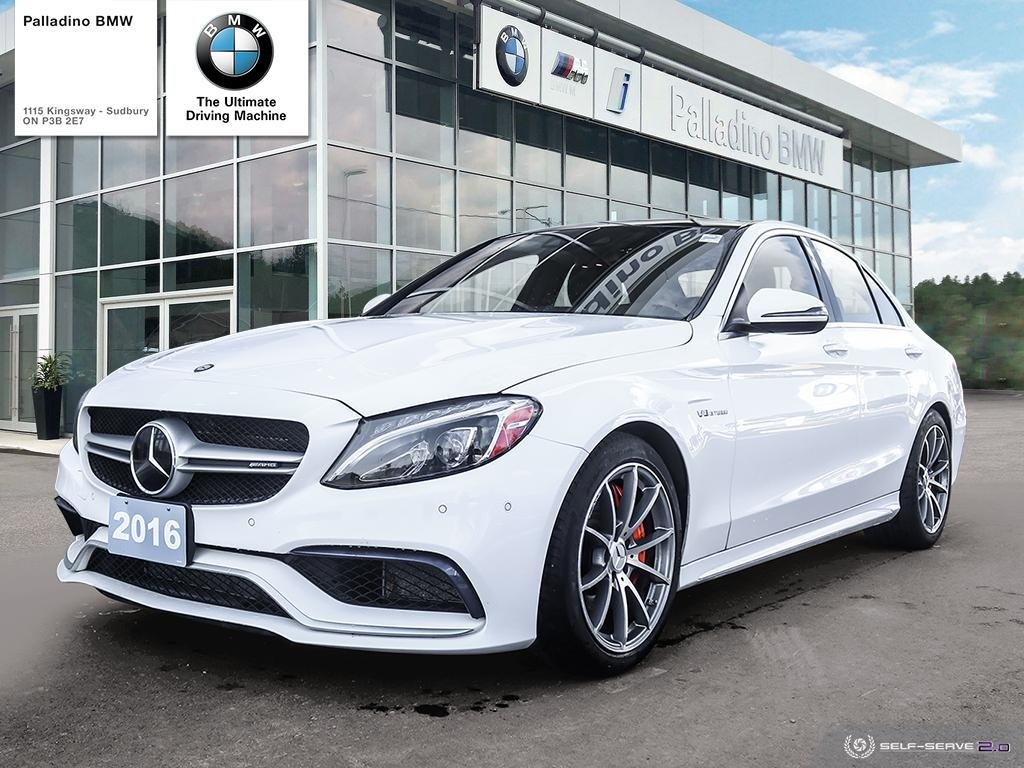 Certified Pre-Owned 2016 Mercedes-Benz C-Class AMG C 63