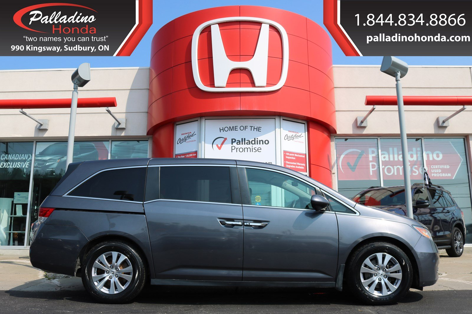 Pre-Owned 2016 Honda Odyssey EX-3rd ROW SEATS,BLUETOOTH CONNECTION,BACKUP CAMERA