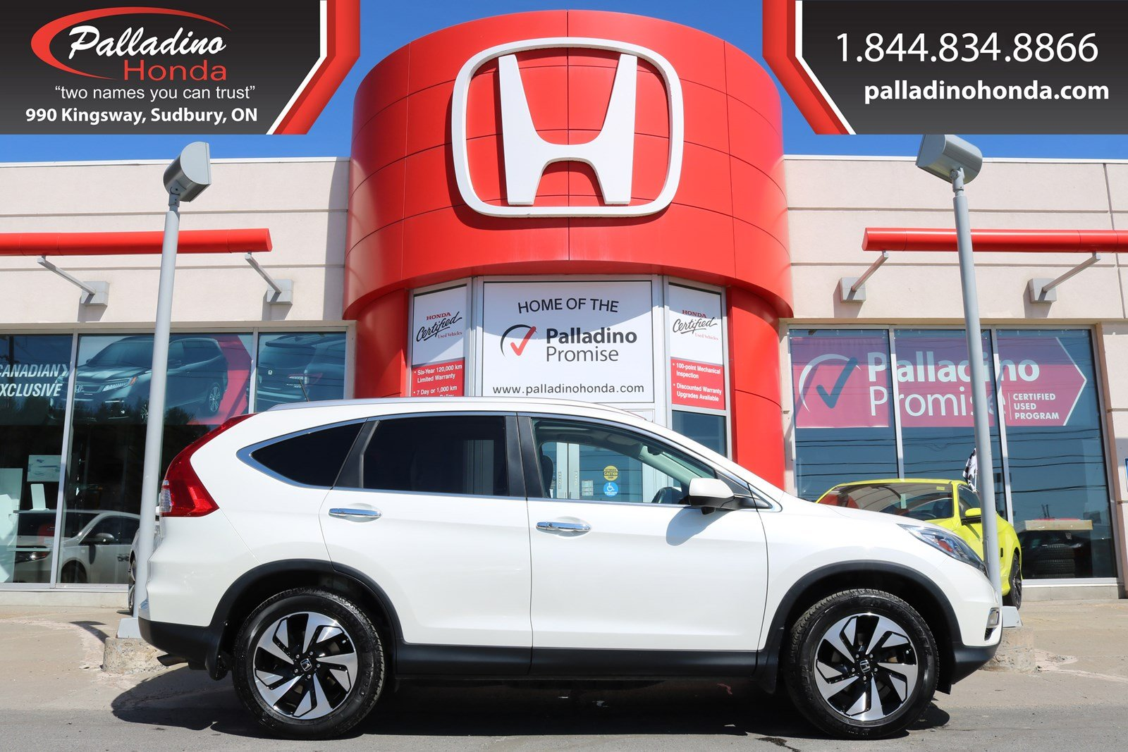 Pre-Owned 2016 Honda CR-V Touring-LOW MILES,ALL WHEEL DRIVE,NAVIGATION