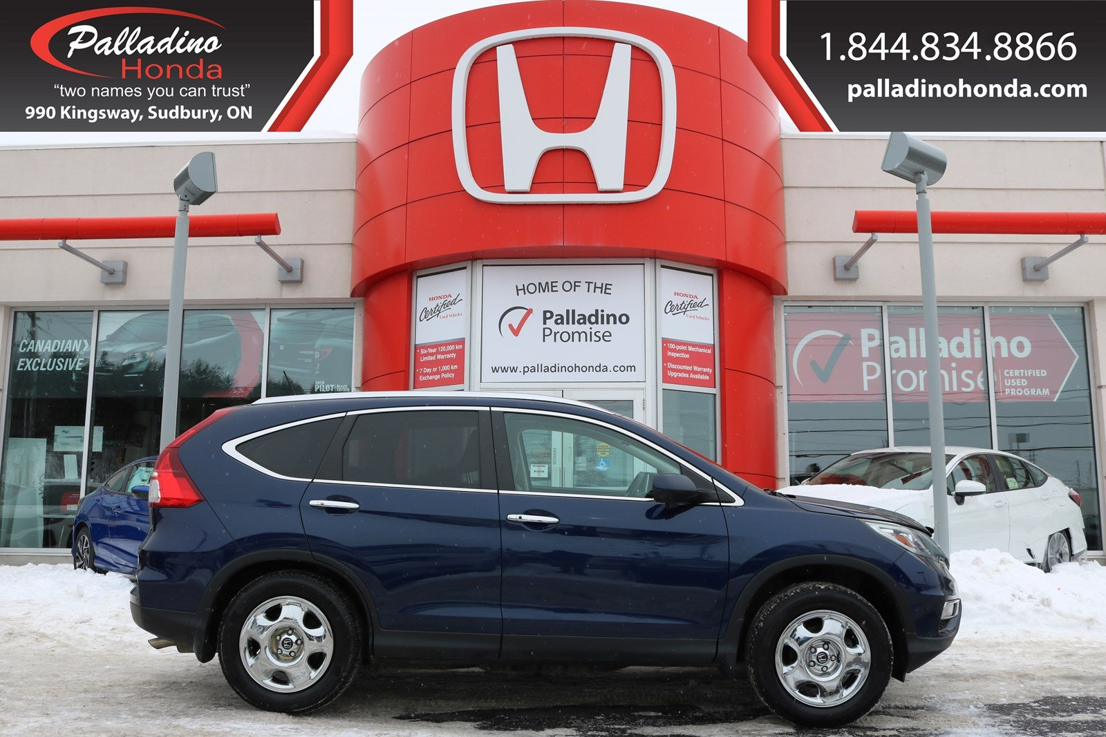 Pre-Owned 2016 Honda CR-V Touring-NAVIGATION,SATELLITE RADIO,HEATED LEATHER SEATS