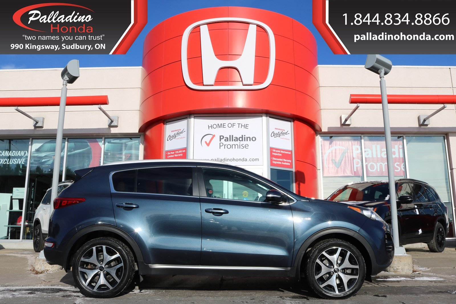 Pre-Owned 2017 Kia Sportage SX Turbo-TURBOCHARGED ALL WHEEL DRIVE,PANORAMIC ROOF,HEATED/COOLED LEATHER SEATS