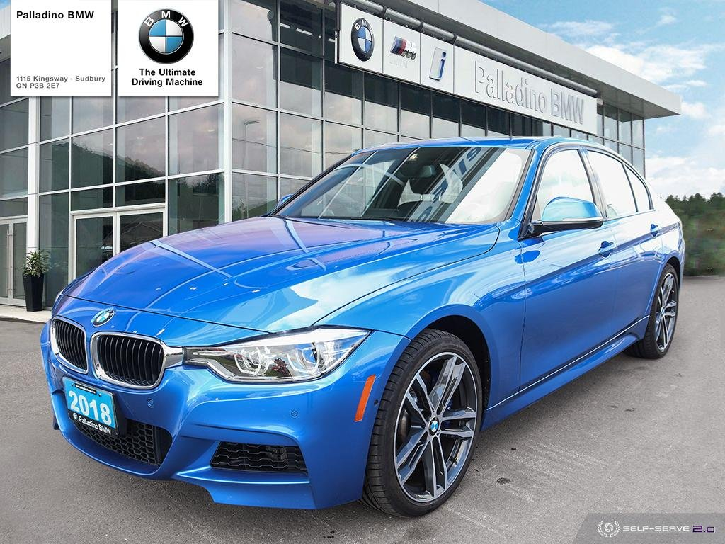 Certified Pre-Owned 2018 BMW 3 Series 340i xDrive