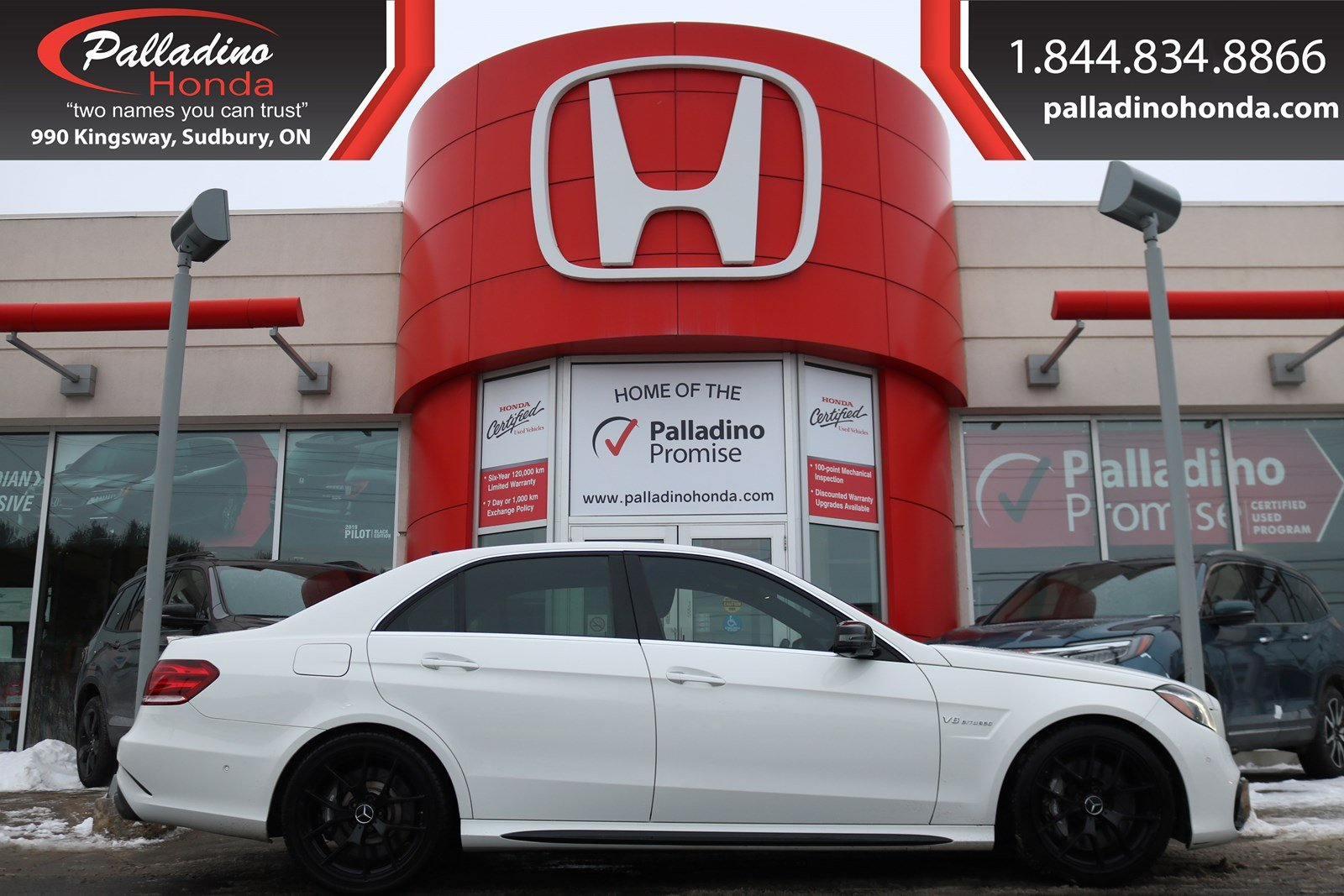 Pre-Owned 2014 Mercedes-Benz E-Class E 63 AMG- CERTIFIED