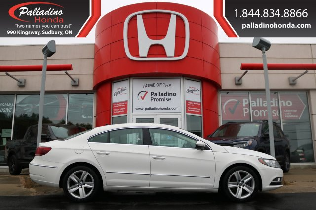 Pre-Owned 2013 Volkswagen CC Sportline-TURBOCHARGED, BACKUP CAMERA, HEATED LEATHER SEATS