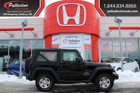 Pre-Owned 2015 Jeep Wrangler Sport-V-6,CONVERTABLE,ROLL BARS,