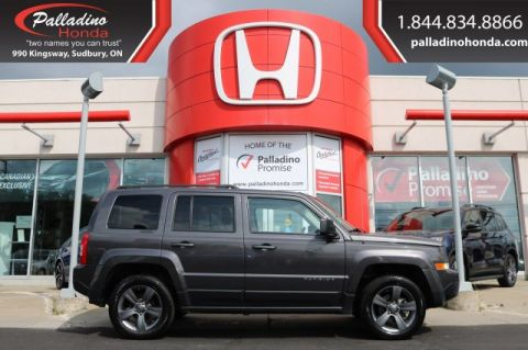 Pre-Owned 2015 Jeep Patriot High Altitude-4WD,LEATHER SEATS,BLUETOOTH