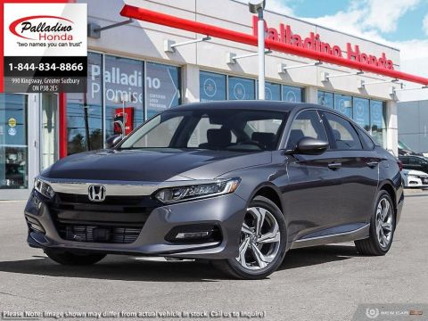 New 2018 Honda Accord Sedan EX-L