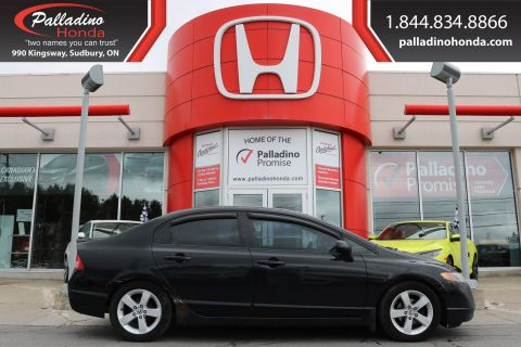 Pre-Owned 2008 Honda Civic Sdn LX-SELF CERTIFY