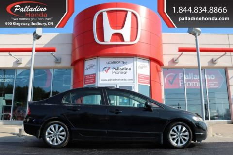 Pre-Owned 2009 Honda Civic Sdn EX-L-SELF CERTIFY