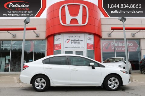 Pre-Owned 2014 Honda Civic Sedan LX-LOW MILES,BLUETOOTH CONNECTION,5 SPEED MANUAL TRANSMISSION FWD 4dr Car