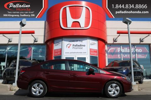 Pre-Owned 2015 Honda Civic Sedan LX-BACKUP CAMERA,HEATED SEATS,BLUETOOTH
