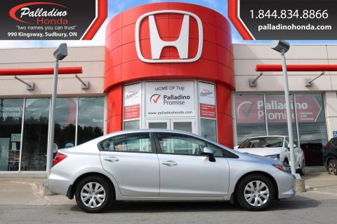 Pre-Owned 2012 Honda Civic Sdn LX FWD 4dr Car