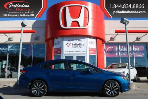 Pre-Owned 2014 Honda Civic Sedan Touring-LOW MILES,NAVIGATION,BACKUP CAMERA