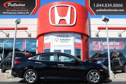 Pre-Owned 2018 Honda Civic Sedan Touring-WIRELESS CHARGING,LEATHER,NAVIGATION