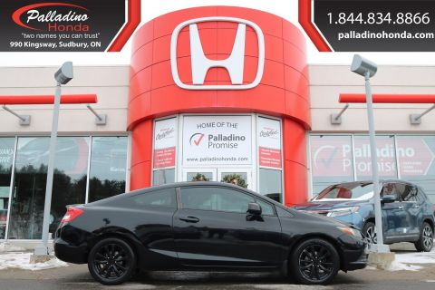 Pre-Owned 2012 Honda Civic Cpe EX-LOW MILES, BLUETOOTH, SUNROOF