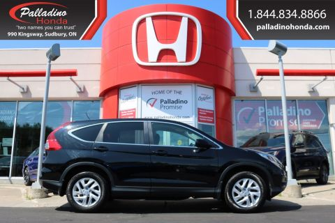 Pre-Owned 2015 Honda CR-V SE-ALL WHEEL DRIVE, BLUETOOTH, HEATED SEATS