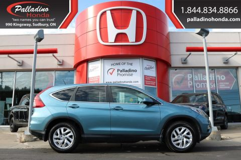 Pre-Owned 2015 Honda CR-V EX-ALL WHEEL DRIVE,HEATED SEATS,BLUETOOTH