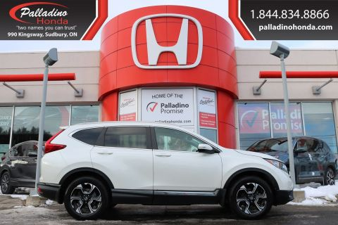 Pre-Owned 2017 Honda CR-V Touring-ALL WHEEL DRIVE,REMOTE START,HEATED LEATHER SEATS